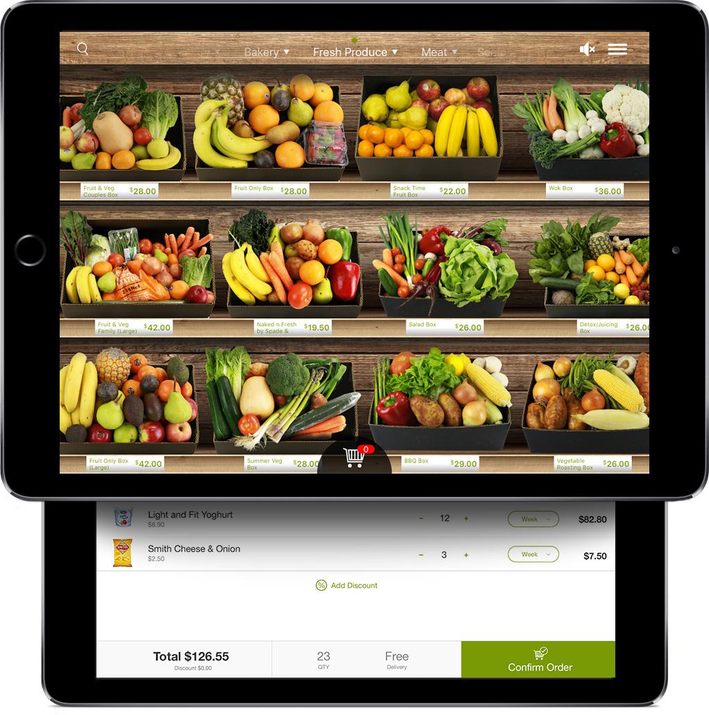 Aussie Farmers Direct Virtual Shopping Mobile App