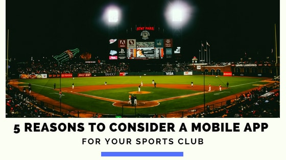 Mobile App For Sports Club