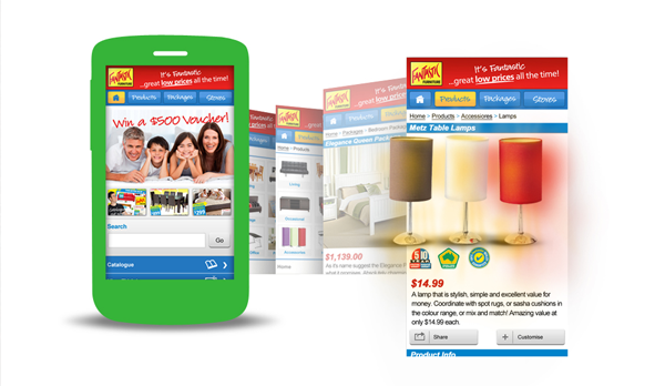 Gomeeki Wins 'Best in Class' for Fantastic Furniture Mobile Site